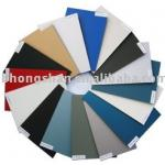 decorative material exterior PVDF aluminum composite panel