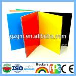 Guangzhou Red color Aluminum Composite Panel, 4mm/5mm Aluminum Composite Panel, ACM