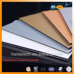 Haida brand high quality cladding PVDF aluminium composite panels