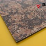 Marbling aluminium decoration fasade material indoor