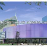 aluminium composite panel use in outwall cladding wall