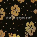 Gold Laser Plum Blossom (Black Backing) aluminium composite panel