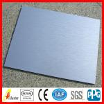 brush aluminum composite panel acp