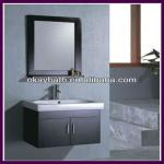 Wall mounted modern bathroom vanity with ceramic basin OKBS-130-OKBS-130