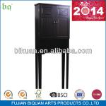 2014 Biquan black MDF over the bathroom space saver-BQ099-0726ES bathroom space saver