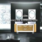 Selling Well Luxurious Double Sink Bathroom Vanity Cabinet-WX-1076
