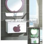 2014 New Design High Quality&Cheap Modern Mirrored Pvc Bathroom Cabinet Wall-Hang Bathroom Vanity-5005