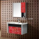 2013 new style modern stainless steel bathroom vanity-X-6414B