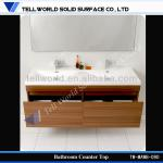 Modern Bathroom Furniture One Piece Vanity Top Bathroom Vanity Double Sink Bathroom-TW-MAWB-090