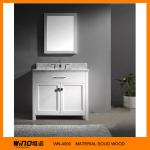 Solid wood white free standing modern bathroom vanities cabinet-WINO-4090