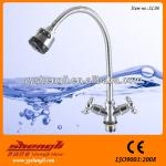 Bath & shower faucets chrome Free Flexsible Hose Single Handle with 2-function-SL06