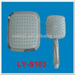 New design square head shower head with clean nozzle-LY-S103
