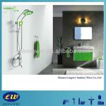 "9"" Oxygenated Series Bright Modern Water Saving Rainfall two functions Head Shower-Head Shower LWS-D20901"