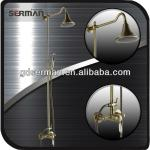 Brass bathtub & shower combination Golden shower column-8820-1