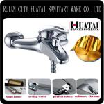 Single Handle Wall Mount Chrome Bathroom Basin faucet taps and mixer-JS-547F