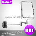 magnify wall chromed plated bath mirror-V044005