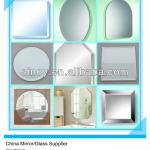 SINOY 3mm-6mm Modern Wall Mirror with ISO Certificate-SMI-BM1000