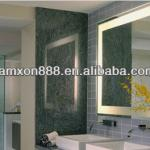 Fogless bathroom mirror with light for villa-LK09273