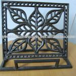 Cast Iron Cook Book Stand-