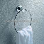 bathroom accessories stainless steel/hardware sets Chrome Plating Towel Ring on Sale-BN-8907