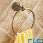2013 New design hot sale Round antique brass towel ring fashion towel hanging towel rack bathroom hardware accessories 7908-7908