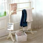 wooden towel stand rack-TR-01