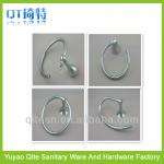 wholesale zinc alloy bathroom towel ring-QT-A004