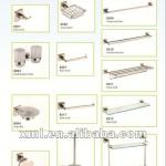 decorative 304 stainless steel bathroom accessories / High fashion stainless steel towel holder-