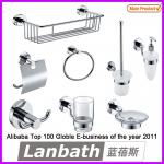 Lanbath[7520A]Newest outlets hardware china bathroom accessories bathroom accessory sets-7520