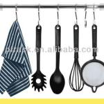Bathroom tool hanging rack with mobile hooks PF-E072-PF-E072