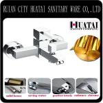 Classic Single lever wall mounted high quality chrome plated bath shower mixer sanitary ware-JS-545F
