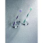 Double cup holders/tooth brush holder/tumbler holder, bathroom accessories-00101#XY-8966