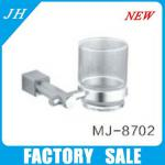 2013 new design single tumbler holder/toothbrush & tumbler holders-MJ-8702