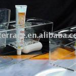 acrylic organizer for cup and toothbrush-HO2010