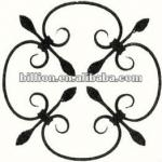 producer ornate wrought iron accessories design for stair railings fence gate solid iron bar-wrought iron accessories