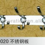 Stainless steel heart shap door hooks 20-C020-20-C020