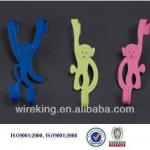 2013 newest wall mounted decorative Metal wholesale coat hooks-HX-010
