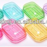 Good quality transparent plastic soap dish-Good quality transparent plastic soap dish