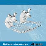 Soap dish rack with 2pcs simple suction cup-BIC-0274A