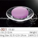 Clear plastic Soap Dishes-SL-321