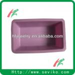 Pink color anti-slip durable silicone soap dish for bathroom-HF-SSD