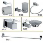 Square base brass or zinc bathroom accessories-01.01.003100