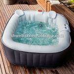 Square Inflatable Whirlpool & Princess Pool-PH050009