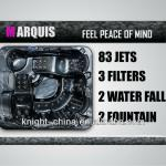 83 Jets New Design Outdoor Spas-Maruqis
