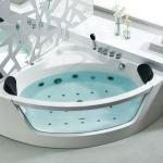 Corner glass Acrylic Massage Bathtub(D-3023)-D-3023