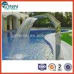 Stainless steel OEM water curtain spa pool waterfalls massage spa-FL-A012