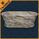 natural marble square bathtub-T4B1-6