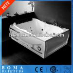 New Cheap Popular Two People Modern Bathroom Whirlpool Bathtub with Jacuzzi-BW106Y