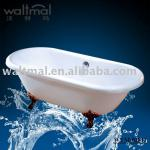 claw feet acrylic bathtub-WTM-02811
