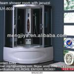 Emily bathroom cabin ssww Computerized steam shower room tub combo shower cubicle from xiaoshan hangzhou jets-MJY-8030
